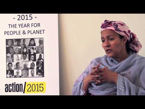 Amina Mohammed: tax justice, human rights and post-2015 development