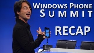Windows Phone 8 Summit Recap