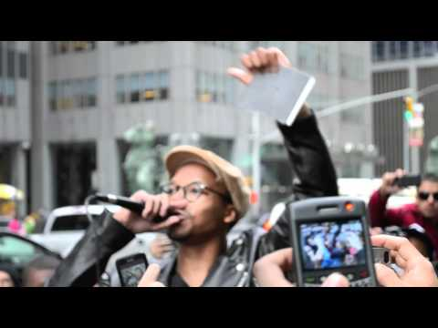 Lupe Fiasco's Speech at Atlantic Records Rally