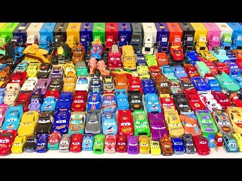 Тачки Новые Машинки Молния Маквин Игрушки Распаковка Мультики про Машинки Видео для Детей