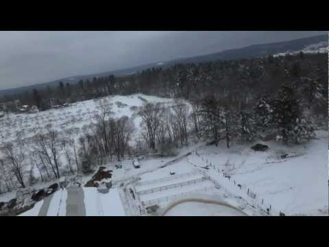 RC Flight over Fairview Farm - Brimfield, MA