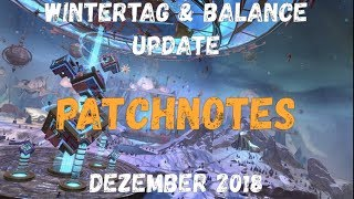 Guild Wars 2 News: 'Wintertag & Balance Update' Dezember 2018 Patchnotes