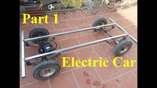 TECH - How to make electric car part 1