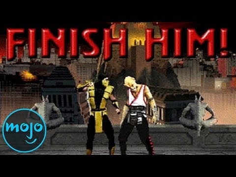 Top 10 Mortal Kombat Fatalities video