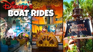 Top 7 Best Disney Water-based Dark Rides! -Walt Disney World
