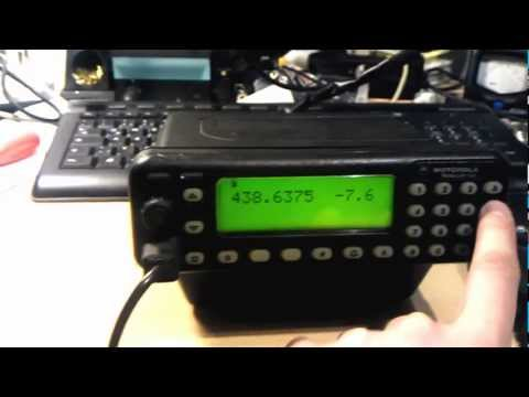 Motorola GM1200 geflasht LPD PMR HAM AFU FOR SALE