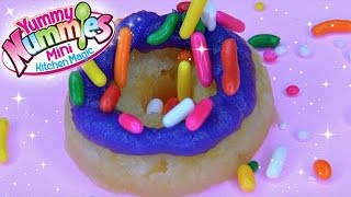 Yummy Nummies Donut Delights Maker DIY Mini Doughnuts NO BAKE