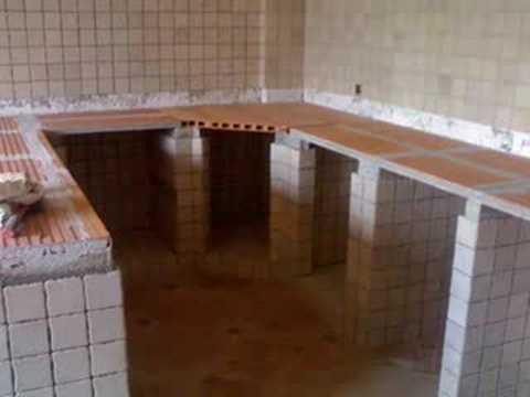 Cocinas Empotradas De Concreto Y Ceramica Imagui