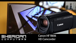 Canon Legria HF R806 HD Camcorder