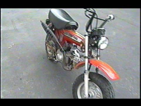 HOW TO CLEAN The Carburetor on HONDA CT 70 Mini Bike - PART 2/3