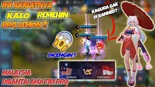 Download Lagu Ini AKIBATNYA !! Remehin RRQ Lemon Gak Banned Kagura Di Arena Kontes INA vs MALAY Gratis STAFABAND