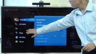 Cách kết nối Wifi trên Tivi Samsung Smart Tivi