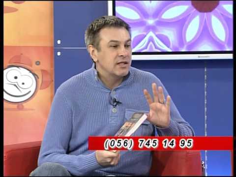Валентин Тарасов в утренней программе. Днепропетровск
