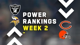 NFL Week 2 Power Rankings Show: Who is the Best Team in the NFC?