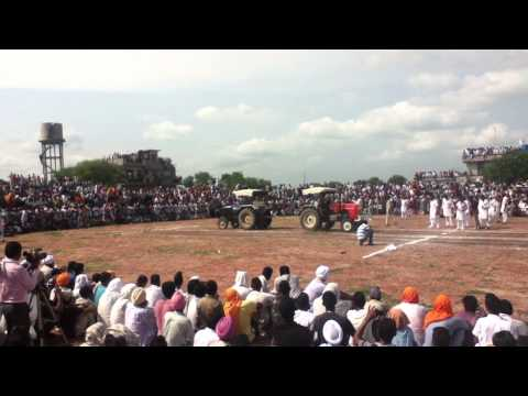 Swaraj 855 Vs Ace 450  Tractor Stunt video