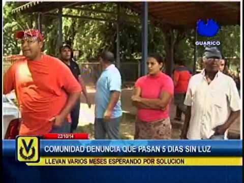 En Guárico denuncian fallas de suministro de energía eléctrica