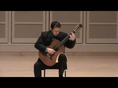 Guido Sanchez-Portuguez plays Campo by Carlevaro