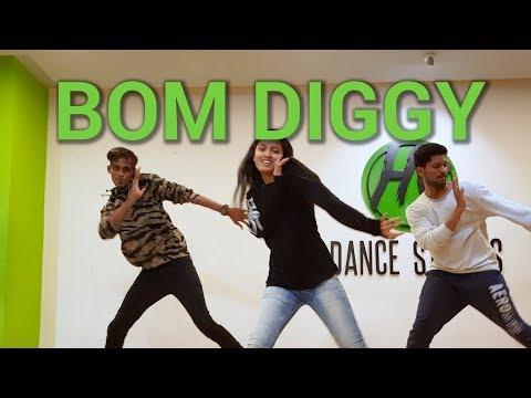 Bom Diggy - Zack Knight X Jasmin Walia | Hip Hop Dance | HY Dance Studios