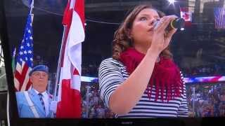 2013 Memorial Cup -  American National Anthem Butchered - Alexis Normand