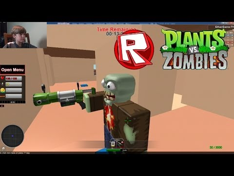 Let's Play ROBLOX! Plants vs Zombies Battlegrounds #1