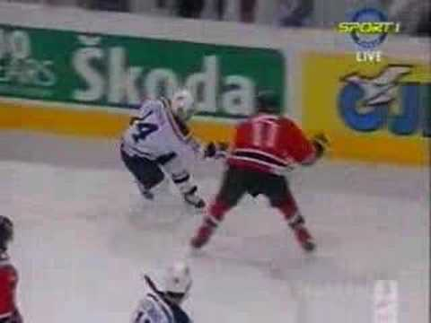 Hit on Gionta