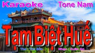 Nhạc Trữ Tình Quê Hương Lay Động Triệu Con Tim Hay Nhất- BEAT Tạm Biệt Huế Karaoke (SI Giáng Trưởng)