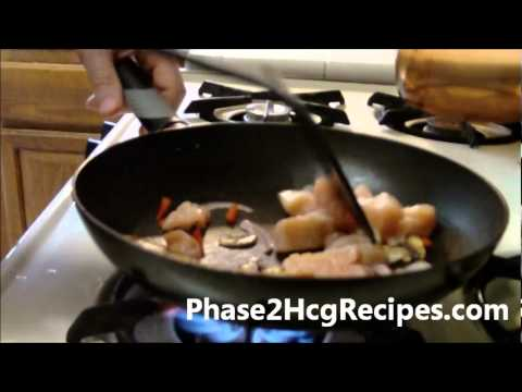 hCG Recipes Phase 2 - Chicken &#038; Broccoli with Rosemary