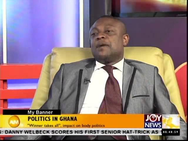 Politics in Ghana - My Banner (2-10-14)