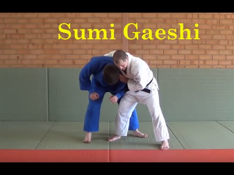 University of Judo - Sumi gaeshi options Image 1