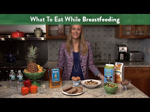 What To Eat While Breastfeeding | Cloudmom video