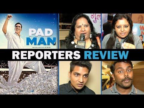 Padman Movie Review By Reporters| Akshay Kumar, Sonam Kapoor, Radhika Apte | Hit or Flop?