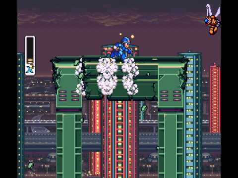 Mega Man X - Vizzed: Mega Man X 100% Walkthrough Part 1 - User video