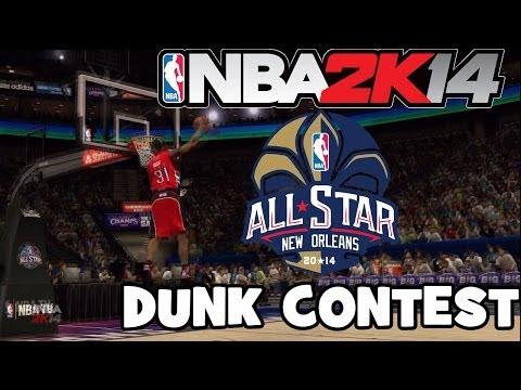 NBA 2k14 All Star Weekend Sprite Slam Dunk Contest