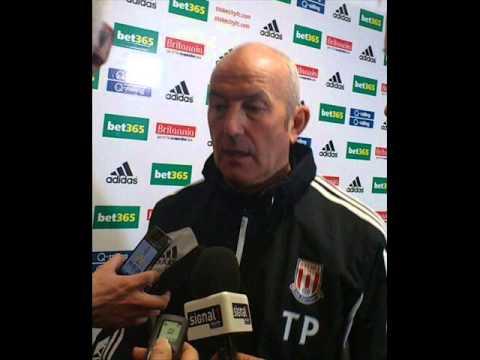 Tony Pulis on Stoke City vs Reading FC press conference 07/02/13