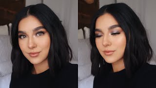 FULL HOLIDAY GLAM MAKEUP LOOK!   Faye Claire