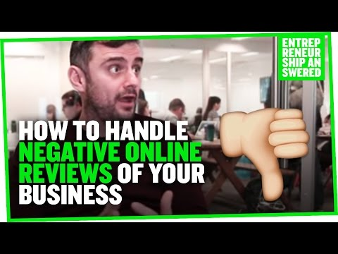 How to Handle Negative Online Reviews of Your Business