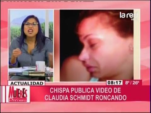 Claudia Schmidt denuncia a Chispa por amenazas de muerte