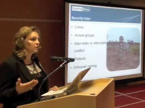 Global Mining Finance New Frontiers 2011 - Control Risks
