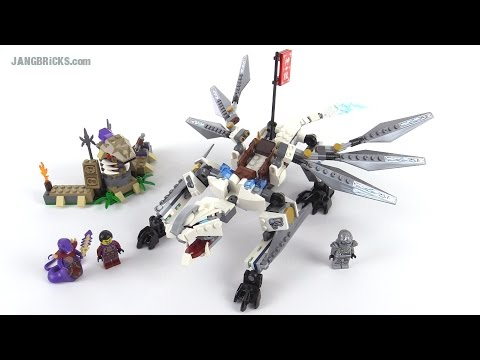 LEGO Ninjago Titanium Dragon review! set 70748
