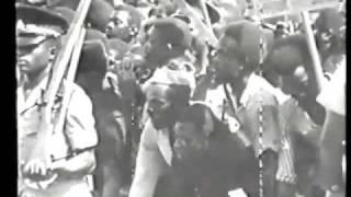 HAILE SELASSIE - April 21-1966 state visit to Jamaica