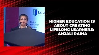 Higher education is about creating
