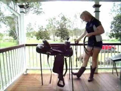 Colt western saddle
