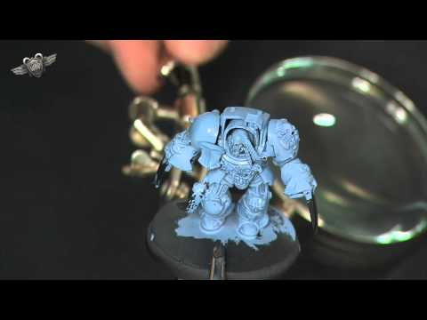 Painting a Space Wolf Terminator: Remastered... part 1 (Warhammer 40K Painting Tutorial)