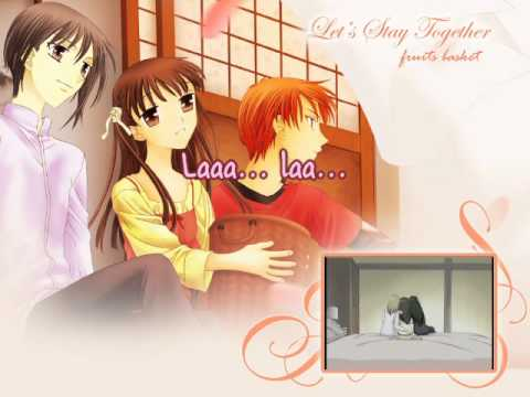 For Fruits Basket Opening English [karaoke instrumental] Off Vocal video