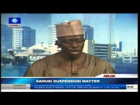 Sanusi's Suspension: House Of Reps Expresses Concern About Due Process Prt4