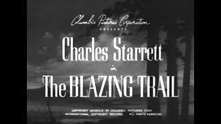 The Durango Kid - The Blazing Trail - Charles Starrett, Smiley Burnette