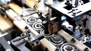 ZEN Automatic Bearing Assembly - How it's made, bearings