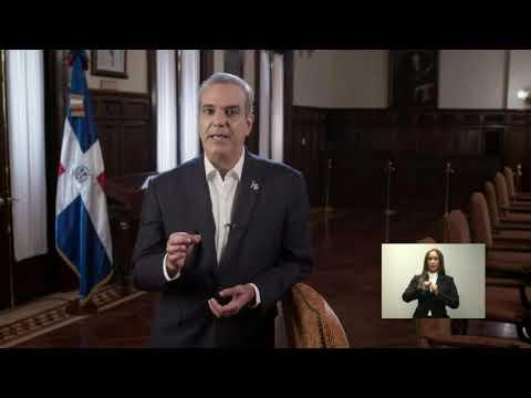 Luis Abinader anuncia donará su salario y plantea recortar un 50% presupuesto a partidos