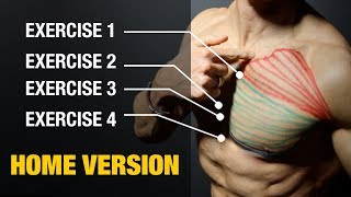 The PERFECT Home Chest Workout (Sets and Reps Included)