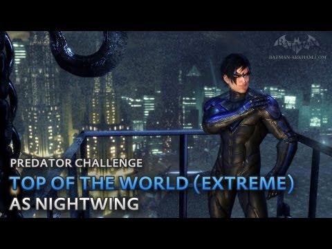 Batman: Arkham City - Top of the World (Extreme) [as Nightwing] - Predator Challenge
